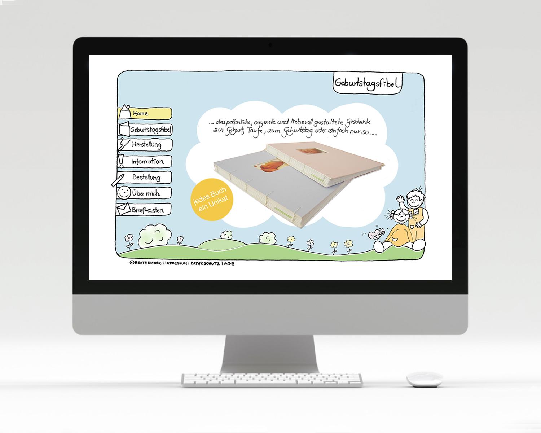 Homepage Geburtstagsfibel