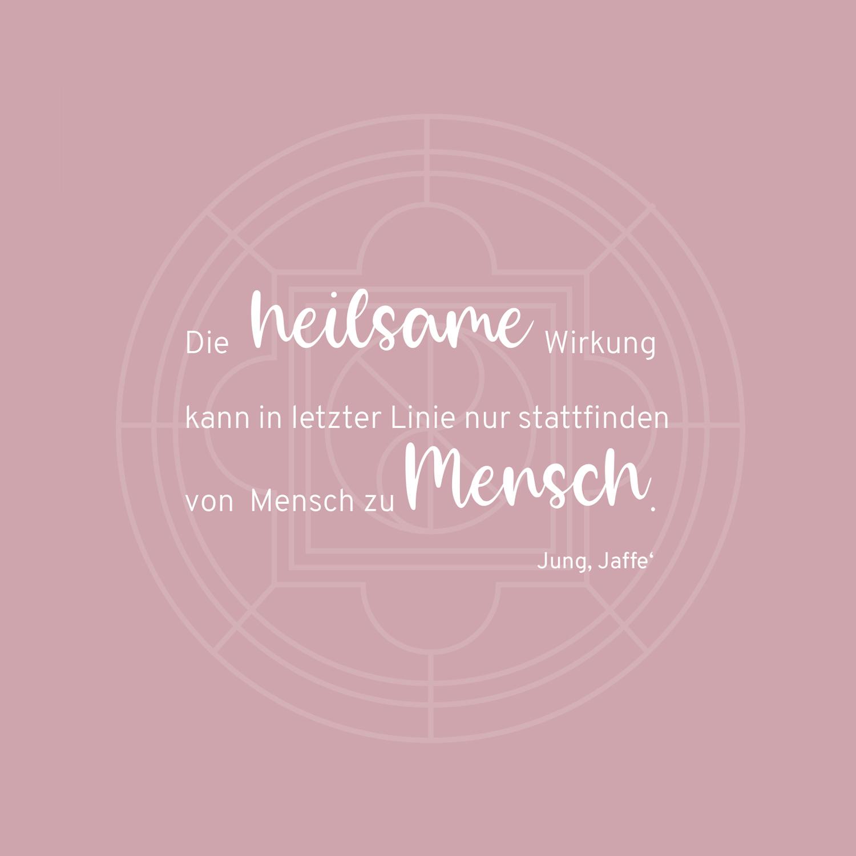 Slogan von Psychotherapeutin Dr. Renate Renner